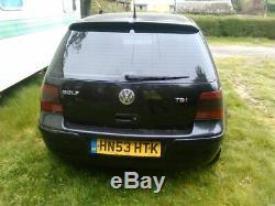 Golf mk 4 GT TDI 180 bhp 6 speed Volkswagen