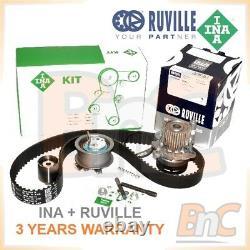 Ina Ruville Hd Timing Belt Kit & Water Pump Set Audi A3 A4 B6 B7 A6 C5 1.9tdi