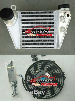 Intercooler For AUDI A3 VW GOLF MK4 GTI Polo Bora Jetta1.8 T 1.9 TDI ASZ + Fan