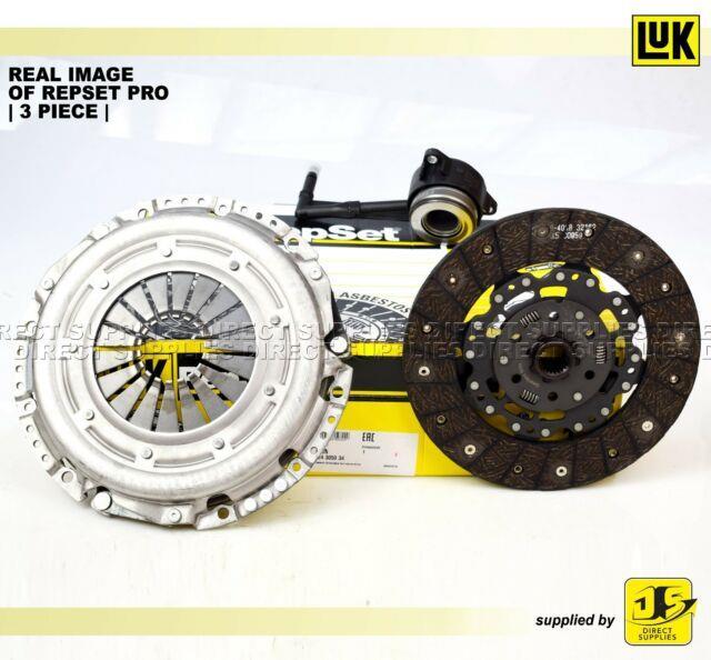 Luk Repset Pro 3 Piece Clutch Kit Audi A3 Ford Seat Skoda Vw 1.9 Tdi 624305034