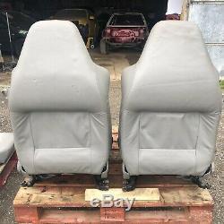 MK4 Golf R32 3 Door Grey Leather Seats GTi TDi V6 V5 1.8T