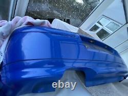Mk4 Golf Rear Bumper With TDI Anniversary Valance Jazz Blue LW5Z