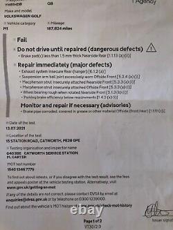 Mk4 Golf TDI spares or Repair