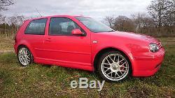 Mk4 VW Golf 25th Anniversary Ltd Edition 1.9TDI PD Tornado Red