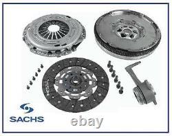New SACHS Skoda Fabia (6Y2) 1.9 TDI RS Dual Mass Flywheel, Clutch Kit & CSC
