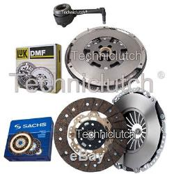 Sachs 2 Part Clutch Kit And Luk Dmf And Csc For Vw Golf Estate 1.9 Tdi 4motion