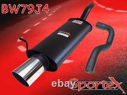 Sportex VW Golf mk4 performance exhaust back box 1.9TDi 10/1997-2004 J4
