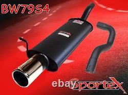 Sportex VW Golf mk4 performance exhaust back box 1.9TDi 10/1997-2004 S4
