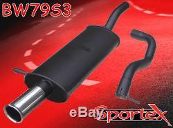 Sportex VW Golf mk4 performance exhaust back box 1.9TDi 1997-2004