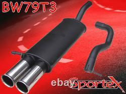 Sportex VW Golf mk4 performance exhaust back box 1.9TDi 1997-2004 T3