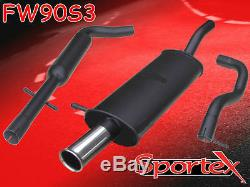 Sportex VW Golf mk4 performance exhaust system 1.9TDi 1997-2004