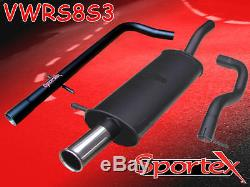 Sportex VW Golf mk4 performance race tube exhaust system 1.9TDi 1997-2004