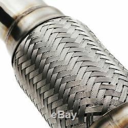 Stainless Exhaust De Cat Decat Downpipe For Vw Golf Mk4 Bora 1j2 1.9 Tdi 98-04
