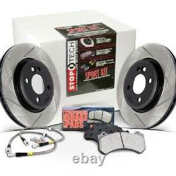 StopTech Sport Kit Slotted Front 280mm Rotors for VW Beetle/Golf/Jetta TDI 98-06