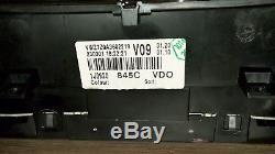 Tacho VW Bora Golf 4 TDI 1J0920845C MFA Full Fis Kombiinstrument cluster VDO