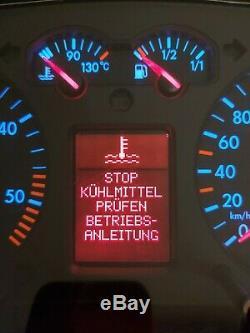 Tacho VW Bora Golf 4 TDI 1J0920846C MFA Full Fis Kombiinstrument cluster VDO