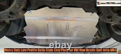 The Ultimate Rally Style Skid Plate for VW GOLF MK4 TDI GAS 1999-2006 Baja