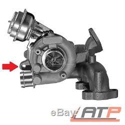 Turbo Charger Exhaust Manifold Vw Bora 1j +estate Golf Mk 4 + Variant 1.9 Tdi