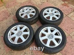 VOLKSWAGEN VW GOLF Mk4 Alloy Wheels 5x100 16 V6 4motion 1J0601025AE BRANDS HATCH