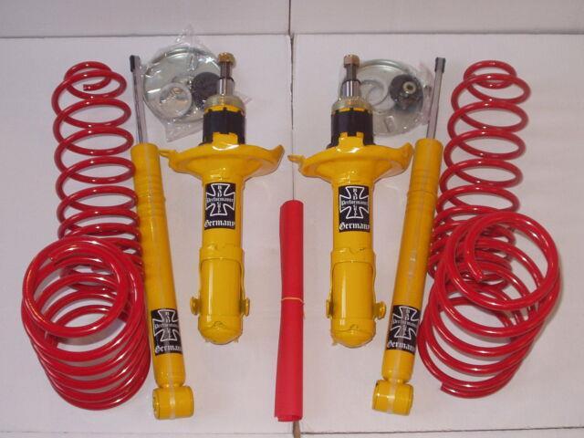 Vw Golf 4 Estate Mk4 Lowering Springs Shock Suspension Kit 40mm 1,9 Td Sdi Tdi
