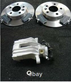 VW GOLF MK4 1.4 1.6 1.8 1.9D TDi SDi 2.0 BRAKE CALIPERS REAR BRAKE DISC PADS