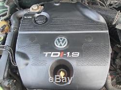 VW GOLF MK4 98-04 1.9 LTR TDI 1896cc 8v 109 BHP COMPLETE DIESEL ENGINE CODE AHF