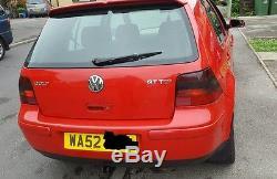 VW GOLF MK4 GT TDI PD130 6 speed