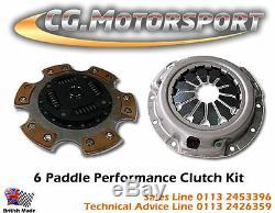 VW GOLF Mk4 1.9 TDi CG MOTORSPORT 6 PADDLE CLUTCH KIT