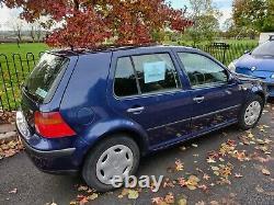 VW Golf 2002 Mk 4 1.9 TDi