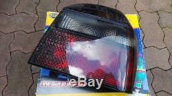 VW Golf 3 Mk3 Cabrio Mk4 GL GTI 16V TDI VR6 syncro HELLA All-Smoked Tail Lights