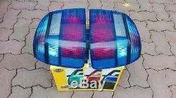 VW Golf 3 Mk3 Cabrio Mk4 GL GTI 16V TDI VR6 syncro HELLA Blue Euro Tail Lights