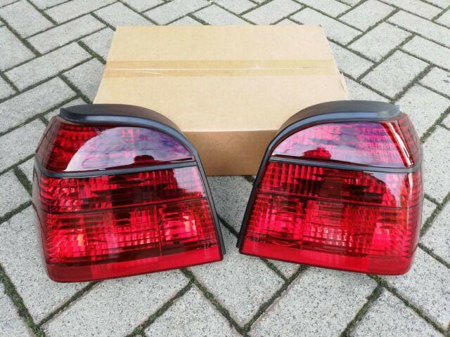 Vw Golf 3 Mk3 Cabrio Mk4 Gti 16v Tdi Vr6 Syncro Depo All-red Euro Tail Lights