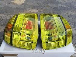 VW Golf 3 Mk3 Cabrio Mk4 GTI 16V TDI VR6 syncro in. Pro. Yellow Euro Tail Lights