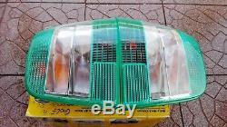 VW Golf 4 Mk4 IV TDI GTI V5 V6 R32 4-motion HELLA Green/Clear Euro Tail Lights