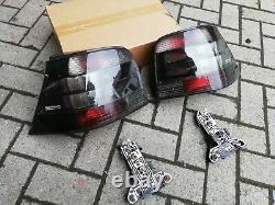 VW Golf 4 Mk4 TDI GLI GTI V5 V6 R32 4-motion HELLA All-Smoked Euro Tail Lights