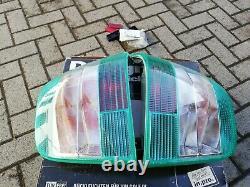 VW Golf 4 Mk4 TDI GLI GTI V5 V6 R32 4-motion HELLA Clear/Green Euro Tail Lights