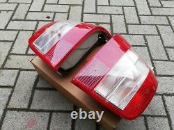 VW Golf 4 Mk4 TDI GLI GTI V5 V6 R32 4-motion HELLA Clear/Red Euro Tail Lights