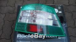 VW Golf 4 Mk4 TDI GLI GTI V5 V6 R32 4-motion HELLA Green/Clear Euro Tail Lights