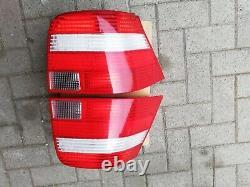 VW Golf 4 Mk4 TDI GLI GTI V6 R32 4-motion OEM Magneti Clear/Red Euro Tail Lights