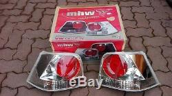 VW Golf 4 Mk4 TDI GTI V5 V6 R32 4-motion MHW Clear/Red Euro Tail Lights