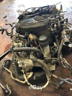 VW Golf GOLF MK4 1.9 TDI 130 PD Diesel Engine ASZ GT TDI BORA A3 ENGINE ONLY