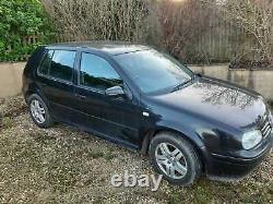 VW Golf GT 1.9 TDI 130 Black Mk4 2002