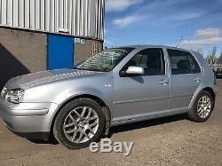 VW Golf GT TDI Mk4 5 Door Silver (Recent service and repairs) (Long MOT)