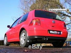 VW Golf MK4 1.8T GTI 1.9 TDI Milltek Sport Cat Back Exhaust Twin Polished GT80