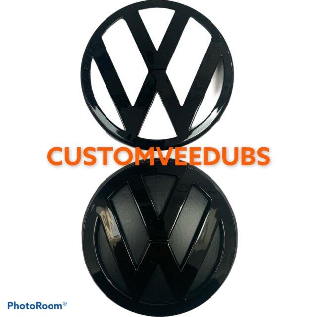Vw Golf Mk4 Badges R32 R Gti Tdi Gloss Black Badge Set Emblem Logo Front Grill