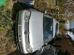 VW Golf MK4 GTI TDI PD150 Reflex silver spares or repair