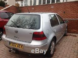 VW Golf Mk4 1.9 GT TDI For spares or repair/Minor front end damage/hpi CLEAR