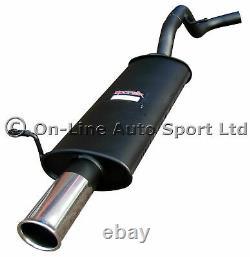 VW Golf Mk4 1.9 TDi 130 & 150 Sportex Performance Exhaust Rear Tail Box Single3