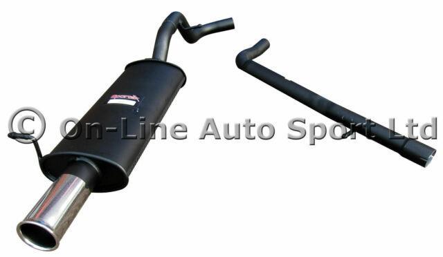 Vw Golf Mk4 1.9 Tdi & Pdi Sportex Performance Exhaust Inc Race Tube Single 3