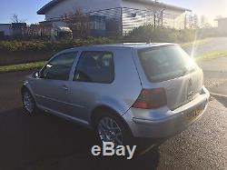 VW Golf Mk4 2002 1.9 TDI (150 PD) 3dr Reflex Silver